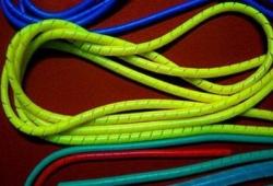 顺德硅胶缠绕管螺旋管